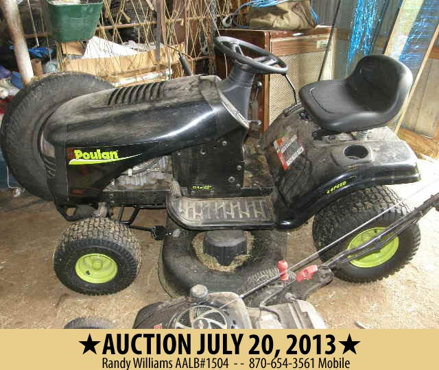 AUction item July 20, 2013