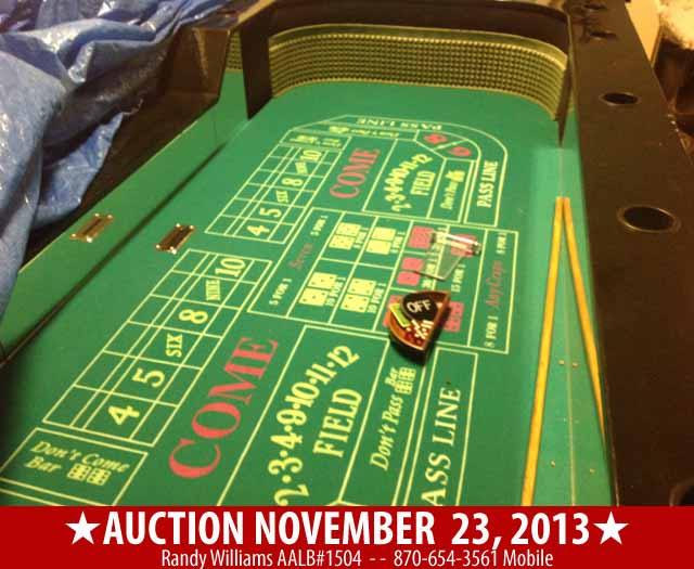 Auction Nov 23, 2013 - Berryville Arkansas