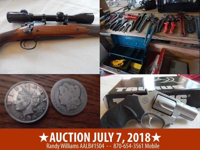 JULY 7 2018 AUCTION