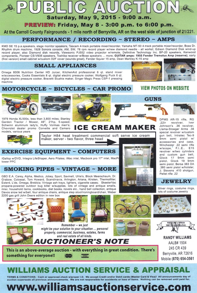 FLYER AUCTION